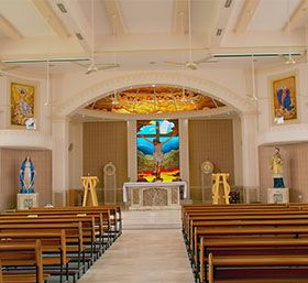 the first and major one which is hindering the interior designing of a church is finance the beautiful designs are always cost more because we have to do